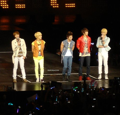 SHINee at New York!