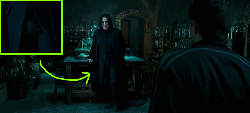 SNAPE + HARRY = SNARRY