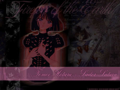 Bakugan and Sailor Moon! Hintergrund with Anime entitled Sailor Saturn/Hotaru Tomoe/SS/M9