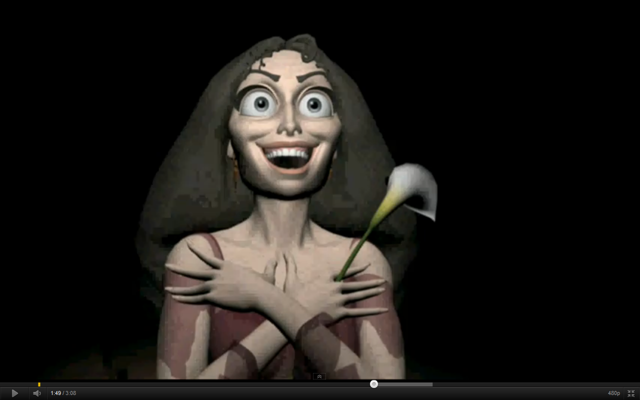 Disney Princess Scary Mother Gothel O.O