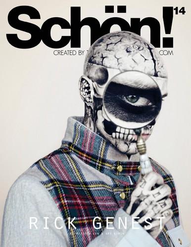 Schon Magazine photoshoot