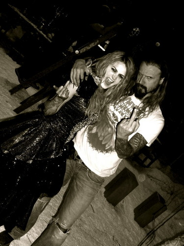 Scout Taylor-Compton and Rob Zombie
