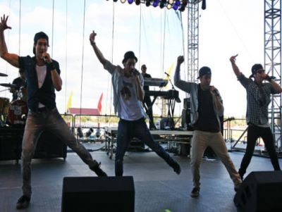 Big Time Rush wallpaper entitled September 18, 2011 - Kansas State Fair