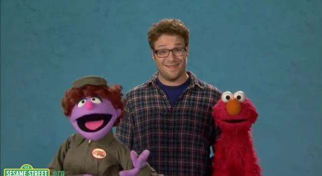 Seth on Sesame kalye