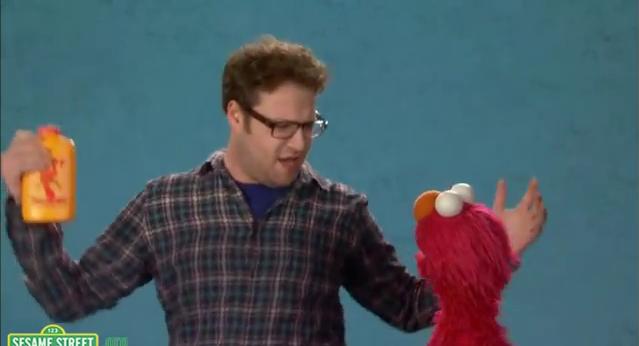 Seth on Sesame straße