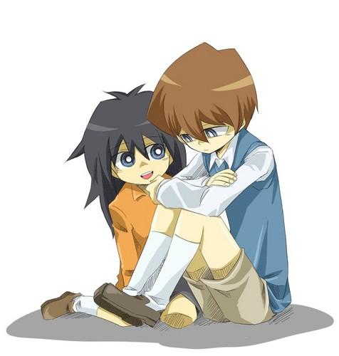 Seto and Mokuba
