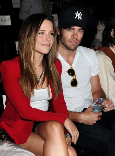 Sophia and chris
