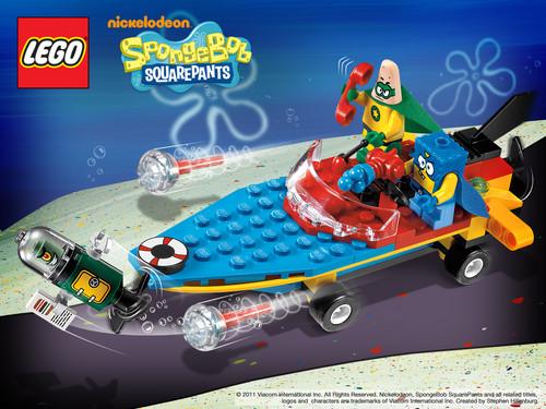 Lego SpongeBob Squarepants fondo de pantalla entitled SpongeBob 2011 Products