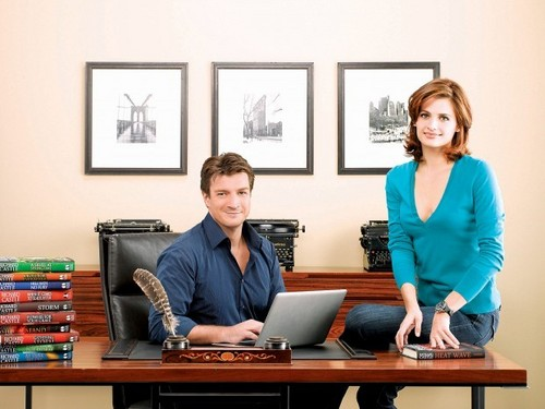 Nathan Fillion & Stana Katic wallpaper titled Stana & Nathan