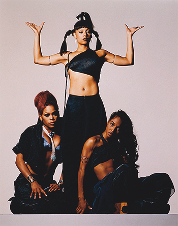 TLC (Music) wallpaper possibly containing tights titled TLC