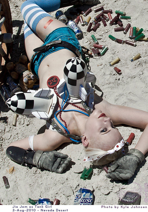 Fan Girl Costume Fatales Tank Girl Costume