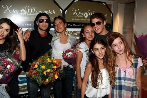 Teen Angels Octomber 2011 en Israel
