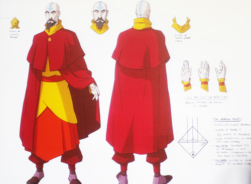 Tenzin sketches