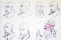 Tenzin sketches - avatar-the-legend-of-korra photo