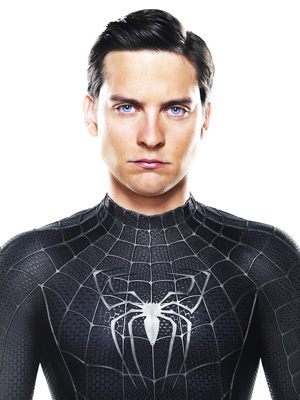 Tobey maguire black spiderman - photo#5