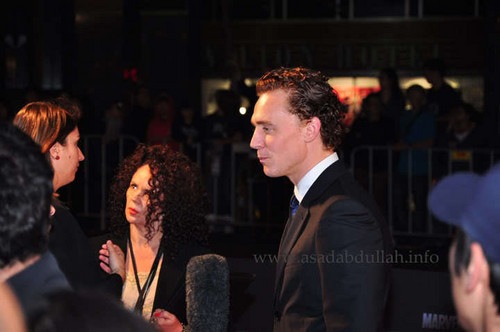Tom Hiddleston @ the premiere of Thor at Event Cinemas in Sydney
