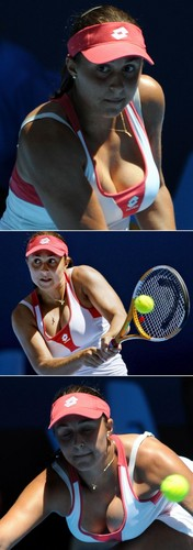 Tamira Paszek in Globular Support