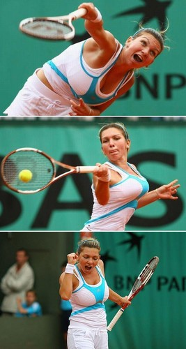 Simona Halep in Big Banging Bundles