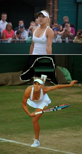 Elena Vesnina in Giant Pirate Hat