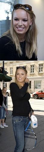 Caroline Wozniacki in City Girl Cutie