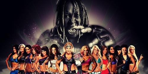 WWE Divas and Kharma