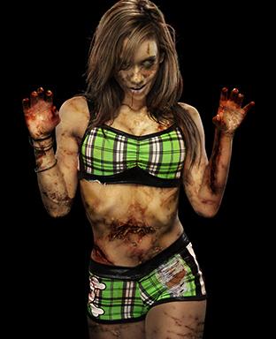 WWE Zombie-AJ Lee