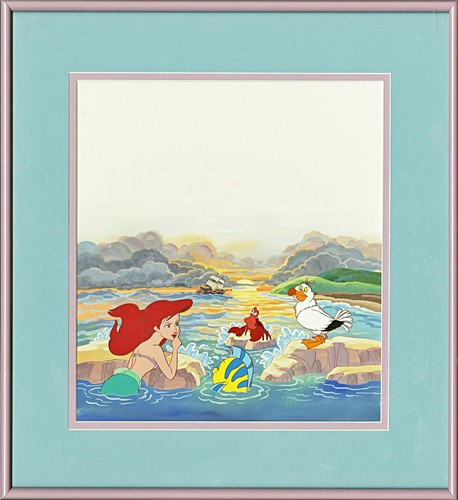 Walt 디즈니 Production Cels - The Little Mermaid