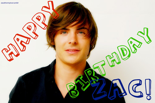 Zac Efron- Birthday- 2011