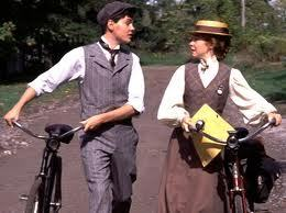 Anne of Green Gables wallpaper with a bicycling called anne & gilbert
