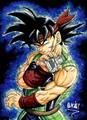bardock with scouter