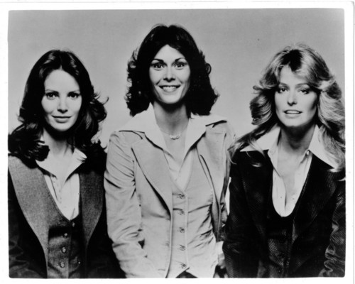Charlie's Angels 1976 wallpaper possibly with a well dressed person, a business suit, and a portrait titled charlie's angels
