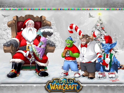 christmas - world-of-warcraft Fan Art