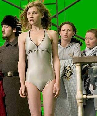 Fleur Delacour Vs. Rosalie Hale wallpaper possibly containing a maillot, a swimsuit, and a leotard titled fleur <3