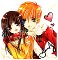 fruits basket (tohru and kyo)  - anime-love photo