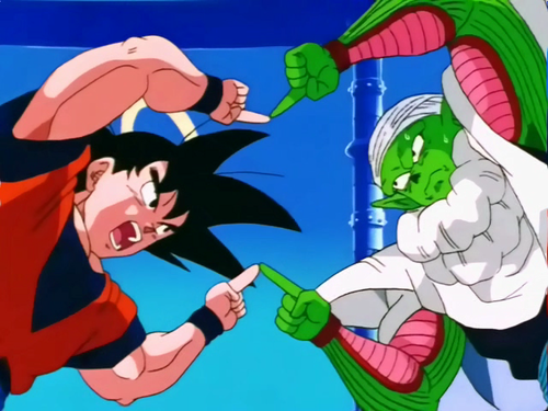Dragon Ball Z wallpaper with anime entitled goku and piccolo fusion