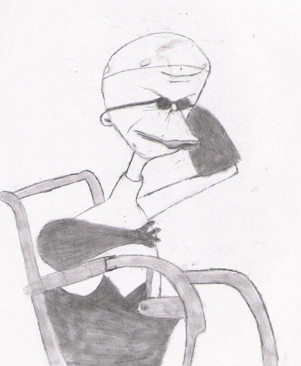 my fan art of Dr.Finklestein.