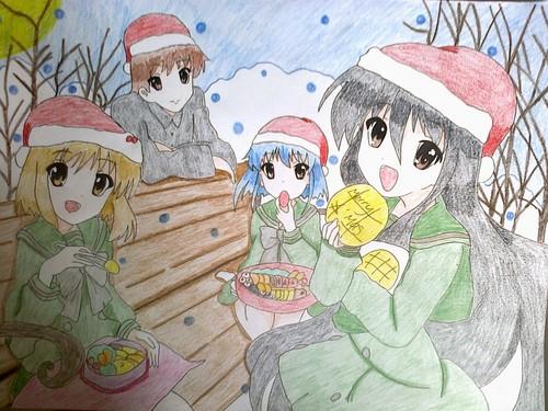 shana,yuji,kazumi and fumina