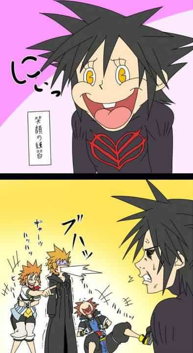 vanitas happy face:D