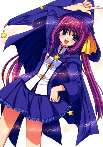 wizard anime girl