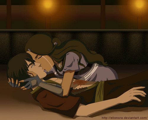 zutara kiss - zuko-and-katara Photo