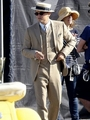Leo On Gatsby Set. (10.28.11)