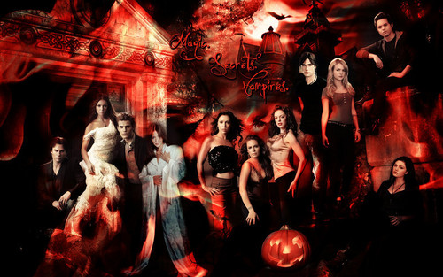 The Secret Circle (TV Show) wallpaper possibly containing a fire, a concert, and an abattoir entitled ☆ TCS, TVD, & Charmed ☆