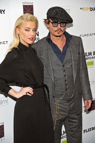 """The rum Diary"" New York Premiere - Inside Arrivals (October 25)"