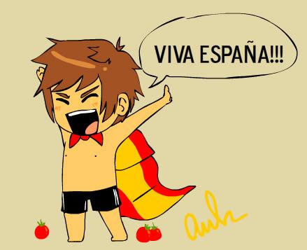 Hetalia Spain fond d'écran with animé entitled ¡VIVA ESPAÑA!