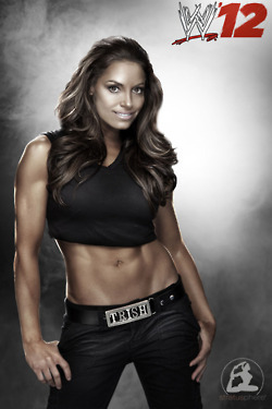 WWE 12-Trish Stratus