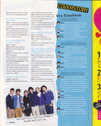1D in Hitkrant magazine (Germany) | October 2011 ♥