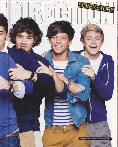 1D in Hitkrant magazine (Germany)   October 2011 ♥