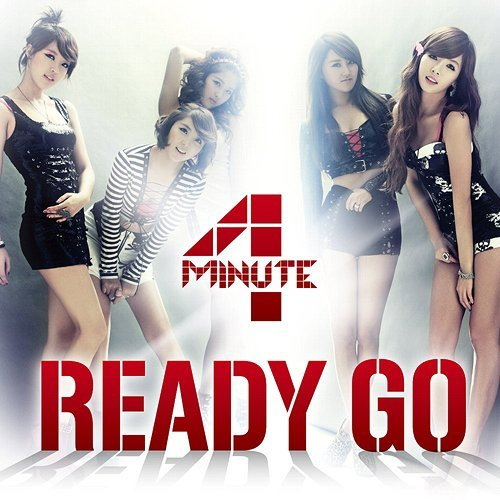 "4Minute ""Ready Go"" Type A"