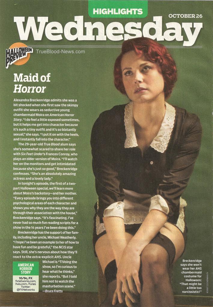 Alex Breckenridge American Horror Story Alexandra Breckenridge Photo 26310970 Fanpop