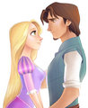 An amazing couple - flynn-and-rapunzel fan art